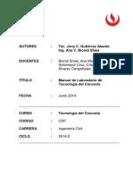 Manual de Laboratorio de Tecnología Del Concreto 1
