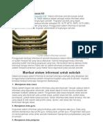 Contoh Sistem Informasi Sekolah PHP