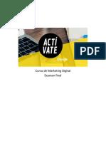 Curso de Marketing Digital - Actívate