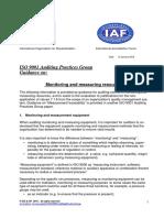 APG MonitoringMeasuring2015