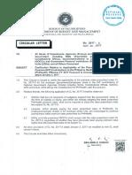 Circular Letter No. 2017 - 8(1)