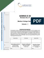 Gemss e 30 r01(0)Mv Cables