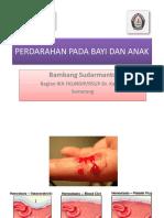 Kuliah Perdarahan Pada Bayi Dan Anak, Desember 2011