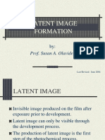 LECTURE 06 - Latent Image Formation