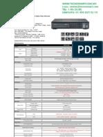 DVR 4 canales CNB HDF1212DV