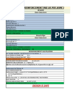 Design Sheet As per ASME 31.8 2012 for 12inch tee - - Copy.xlsx