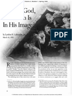 Larouche - What is God That Man is in His Image