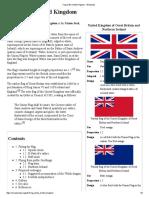 Flag of the United Kingdom - Wikipedia