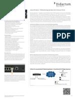 AKCP sensorProbe4 Alarm Server mit 4 Sensor Ports