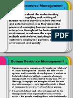 1. Strategic Human Resource Management