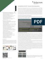 AKCP securityProbe 5E-X60 - Überwachung von bis zu 60 potentialfreien Kontakten
