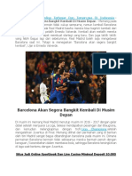 Barcelona Akan Segera Bangkit Kembali Di Musim Depan