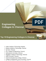 Best Engineering Colleges in Chennai