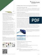 AKCP Alarm Sirene mit Stroboskop Blitzlicht - Audiovisuelle Alarmgebung über SNMP
