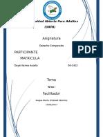 Tarea i Derecho Comparado-daysi Acosta
