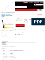 Jual Hand Pallet 1,5T LOW Lengkap Dengan Harga