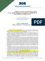 RD 975-2009 Gestión de Residuos y Rehabilitacion