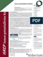 IP-Anbindung wichtiger Anlagen und Systeme mit AKCP Sensor potentialfreier Kontakt