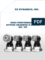 APEX DYNAMICS, INC/ HIGH PERFORMANCE HYPOID GEARBOX