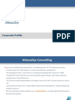 AltezzaSys Consulting Profile V0.4