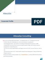 AltezzaSys Consulting Profile V0.4