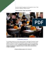 La Educación en China