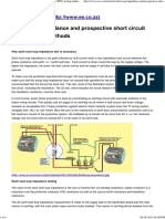 Earth Loop Impedance and Prospective Short Circuit (PSC) Testing Methods - EE Publishers