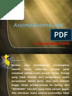 Divine Axioms