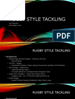 Rugby Style Tackling