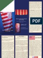 US CIVIL Flag Brochure