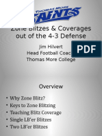 Zone Blitzes Coverages Out of the 43