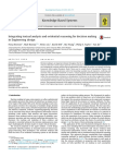 Integrating textual analysis and evidential reasoning for decision making in Engineering design