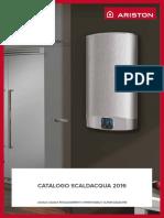 Catalogo Scaldacqua2016 ELDOM