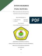 MAKALAH SISTEM EKSKRESI (KELOMPOK VI).docx
