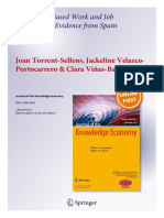 Journal of the Knowledge Economy - Torrens-Velazco-Viñas Paper - 2016