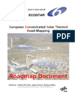 Ecostar - European Concentrated Solar Thermal Road-Mapping