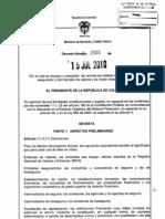 Decreto 2555-15-07-2010