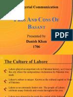 Basant Presentation