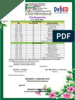 Class Program Bel