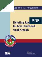 Texas Rural Schools Task Force Report