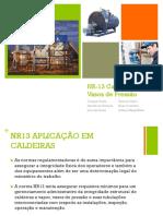 NR13 caldeiras