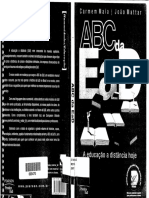 ABC DA EAD - Educação a Distância Hoje - Carmem Maia e João Matar (LIVRO)