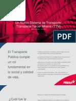 El plan de transportes de Piñera