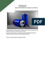 Pasos Para La Creación de La Lata de Pepsi