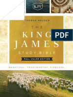 The King James Study Bible - Full Color