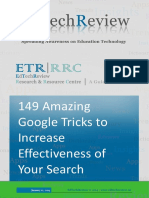 149 Amazing Google Tricks to Increase Effectiveness of Your Search