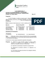 Ejercicios Impuestos Municipales 1