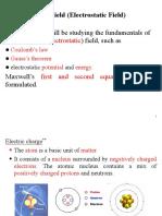 EE2001D Unit 2-Electrical Field 1