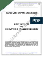AFB-Short Notes by Murugan