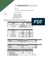 Caracteristicas Hidraulicas y Estructurales